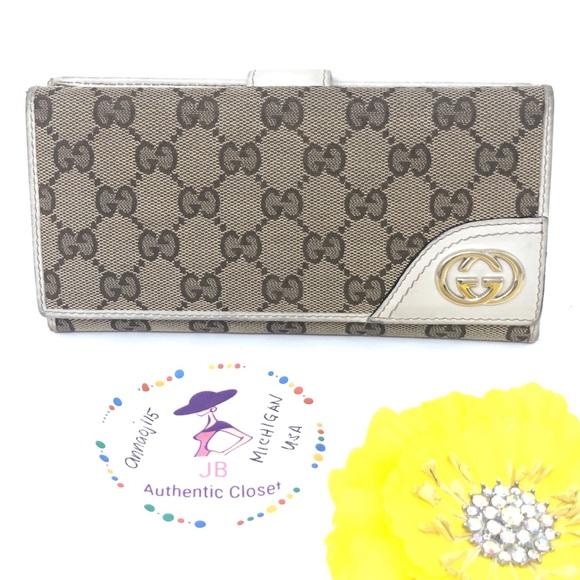 93e57435107d Gucci Bags | Vintage Monogram Wallet | Poshmark